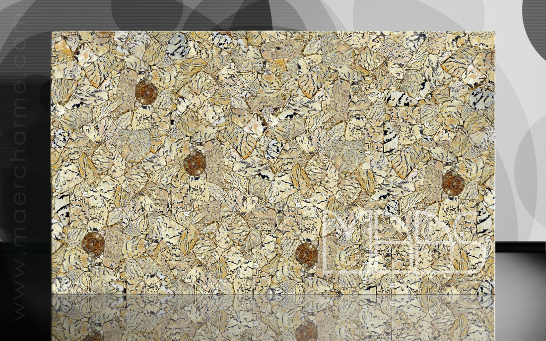 Feldspat Tiger mit Ammoniten Fensterbänke Preise