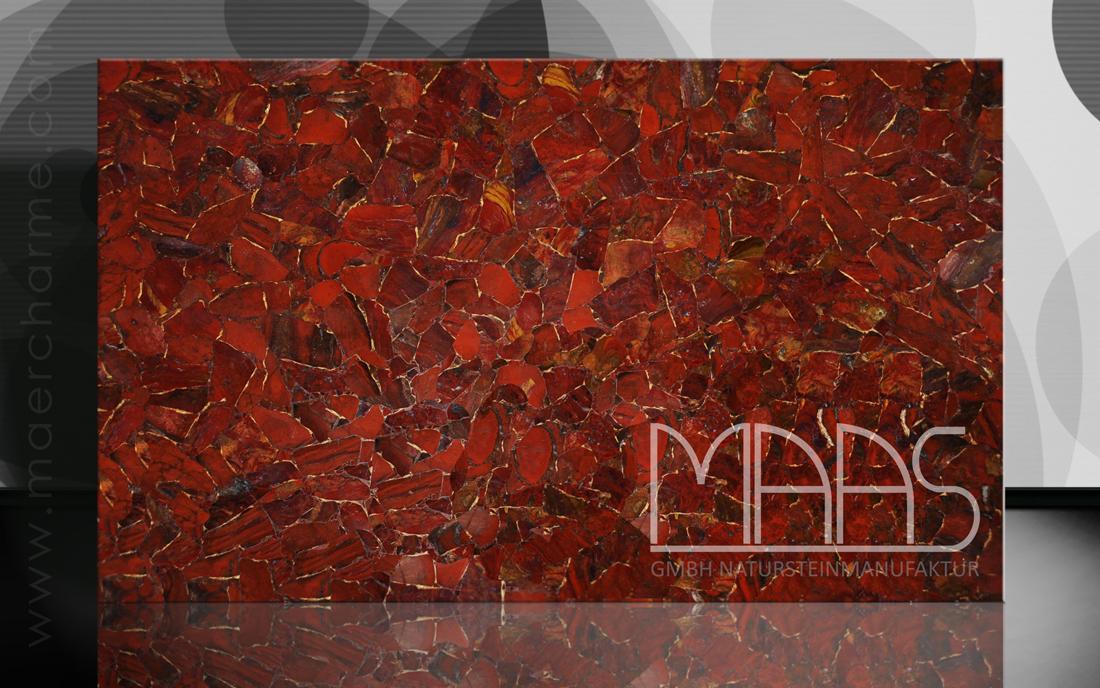 Jaspis Rouge mit Gold Variante 1 Fensterbänke Preise