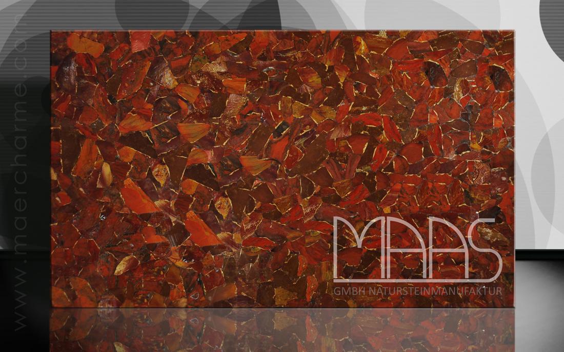 Jaspis Rouge mit Gold Variante 2 Fensterbänke Preise