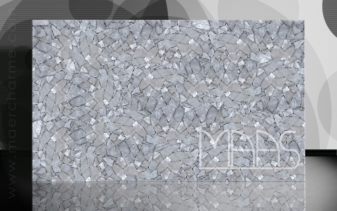 Weißer Quarz mit Silber - hinterleuchtet Fensterbänke Preise