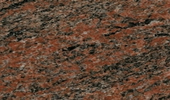 Granit Arbeitsplatten - Multicolor Rot India